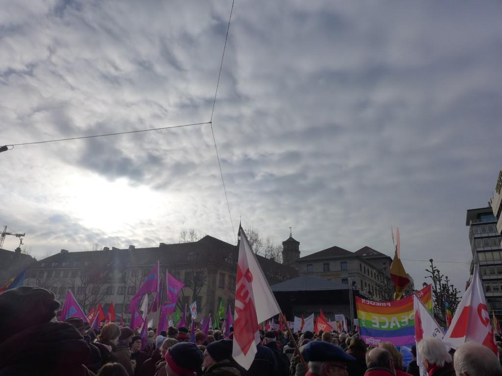 Kundgebung gegen Rassismus und Gewalt Stuttgart