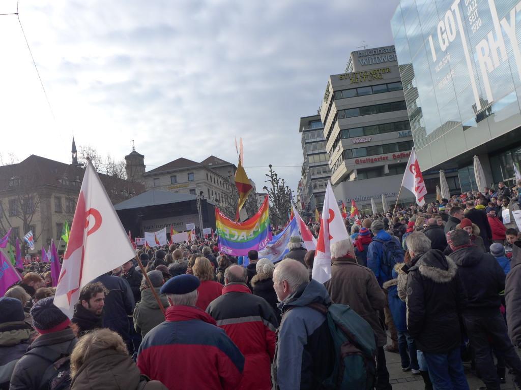 """Bündnis """"Halt. zusammen. Baden-Württemberg gegen Rassismus und Gewalt"""""""